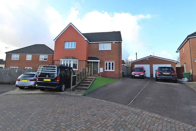 Thumbnail Detached house for sale in Meadow Brook, Church Village, Pontypridd, Rhondda, Cynon, Taff.