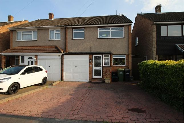 Thumbnail Semi-detached house for sale in Ranworth Avenue, Hoddesdon, Hertfordshire