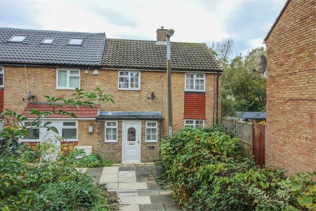Thumbnail End terrace house for sale in Abbotsweld, Harlow, Essex
