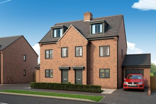 "Thumbnail Property for sale in ""The Berkshire At Timeless, Seacroft"" at York Road, Leeds"