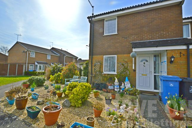 Thumbnail End terrace house for sale in Chentole Close, Poole