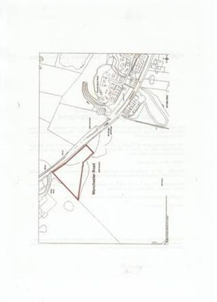 Thumbnail Land for sale in Land At Manchester Road, Derbyshire