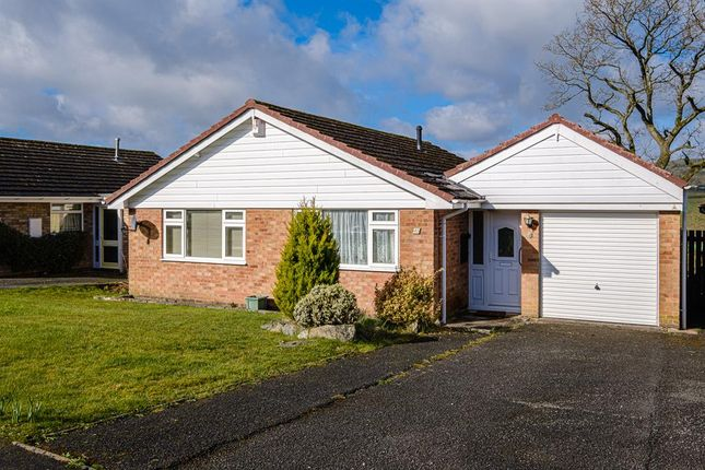 Thumbnail Detached bungalow for sale in Holcombe Drive, Llandrindod Wells, Llandrindod Wells