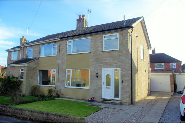 3 bed semi-detached house for sale in Wayside Grove, Harrogate