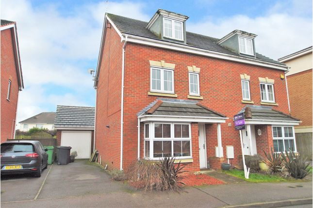 Thumbnail Semi-detached house for sale in Lincoln Way, North Wingfield, Chesterfield