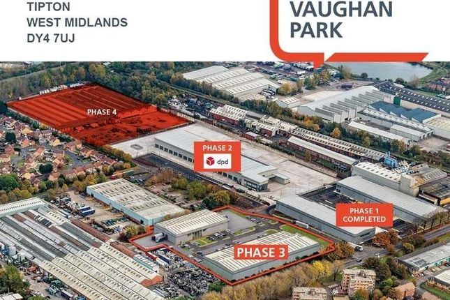 Thumbnail Light industrial to let in Units 6 - 10, Tipton, West Midlands