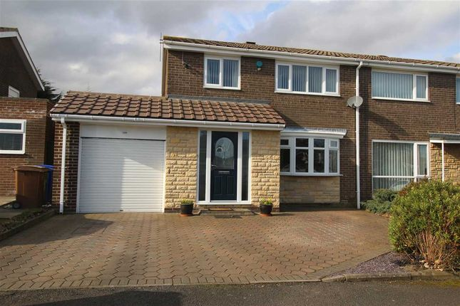 Thumbnail Semi-detached house for sale in Ringwood Drive, Parkside Glade, Cramlington