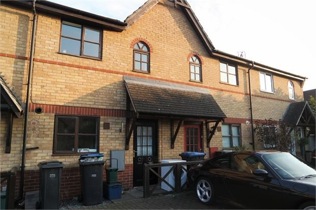 Thumbnail Terraced house for sale in Coalport Close, Church Langley, Church Langley, Essex.