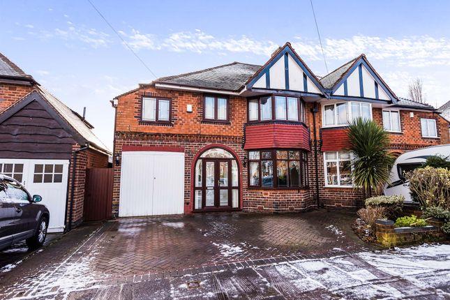 Thumbnail Semi-detached house for sale in Beeches Drive, Erdington, Birmingham