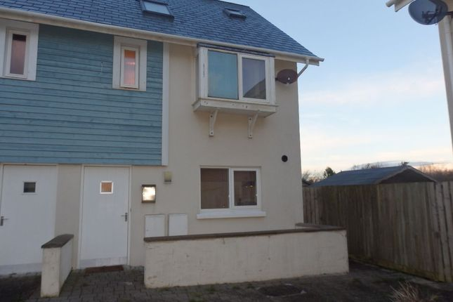 Thumbnail Semi-detached house to rent in Pentre Nicklaus Village, Llanelli