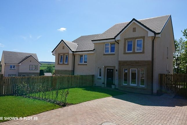 Thumbnail Semi-detached house for sale in Holmhead Gardens Hospital Road, Cumnock, East Ayrshire