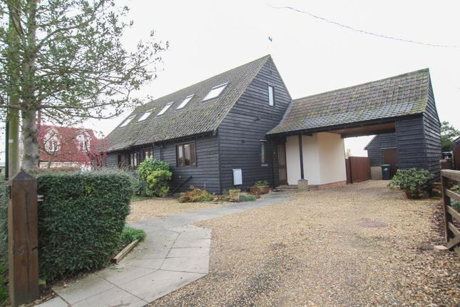 Thumbnail Detached house for sale in Back Lane, Wicken, Ely