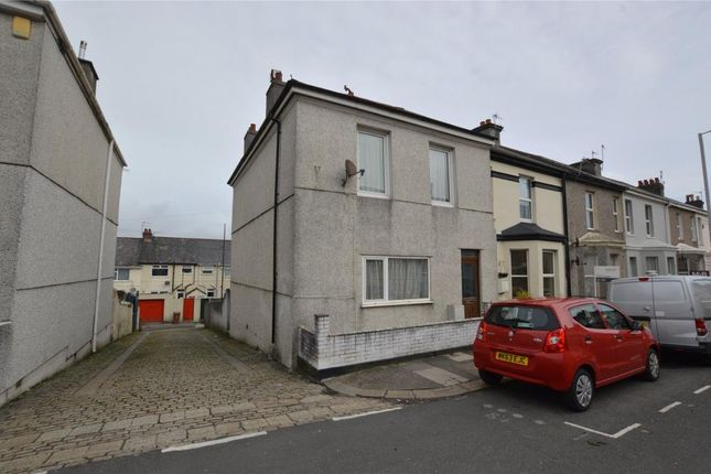Thumbnail End terrace house for sale in Grenville Road, Plymouth, Devon