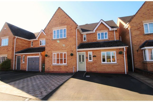 Thumbnail Detached house for sale in Ox Bow Way, Kidderminster