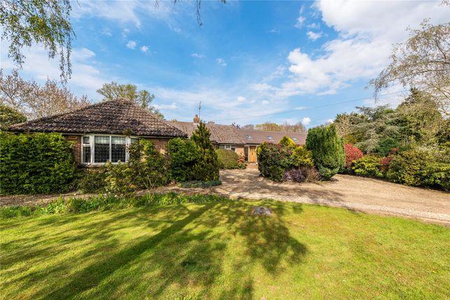 Thumbnail Detached bungalow for sale in Common Lane, Hemingford Abbots, Huntingdon, Cambridgeshire
