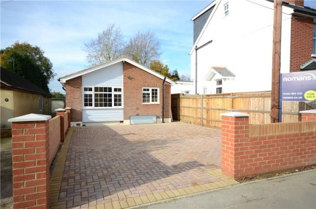 Thumbnail Detached bungalow for sale in College Road, College Town, Sandhurst