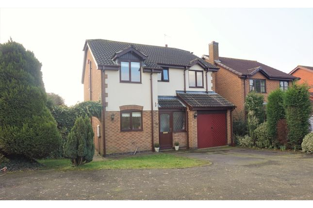 Thumbnail Detached house for sale in Heath Road, Market Bosworth