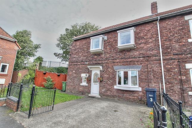 Thumbnail Semi-detached house for sale in Pattinson Gardens, Gateshead