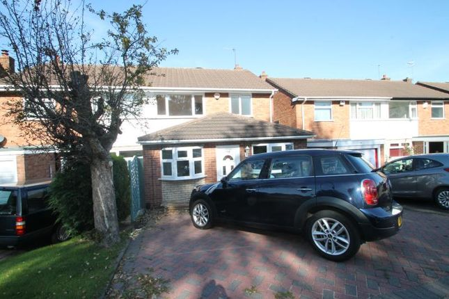 Thumbnail Semi-detached house to rent in Lyde Green, Halesowen, West Midlands