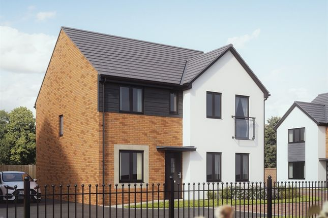 """Thumbnail Detached house for sale in """"The Mayfair"""" at Rhodfa Lewis, Old St. Mellons, Cardiff"""