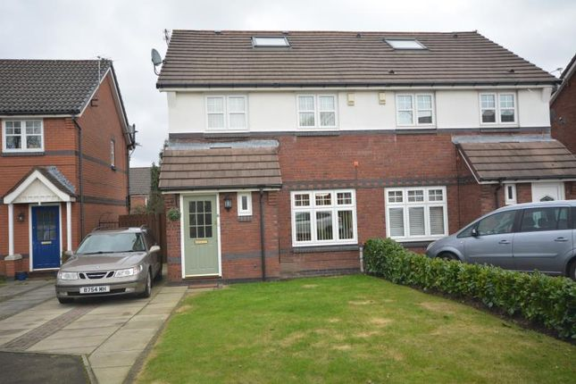Thumbnail Semi-detached house to rent in Wellesley Grove, Bebington, Wirral