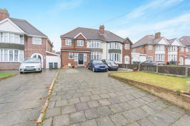 Thumbnail Semi-detached house for sale in Barrows Lane, Birmingham, West Midlands, .