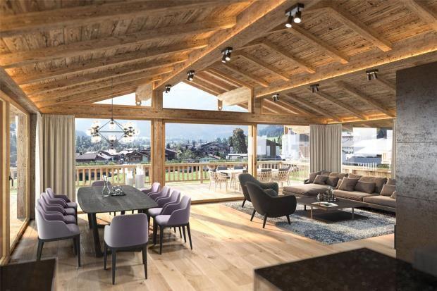 Thumbnail Apartment for sale in Unit 1 - Penthouse, Reith Bei Kitzbuhel, Tirol, Austria