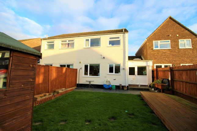 Thumbnail Semi-detached house for sale in Pheasant Close, Mulbarton, Norwich