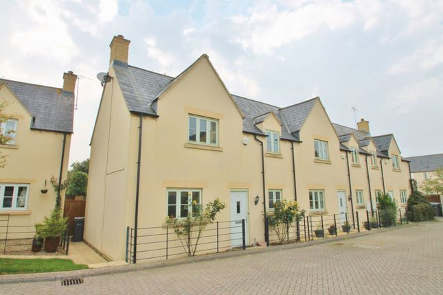 Thumbnail Terraced house for sale in Winchcombe Gardens, South Cerney, Gloucestershire