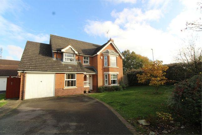 Thumbnail Detached house for sale in Azalea Close, Lutterworth