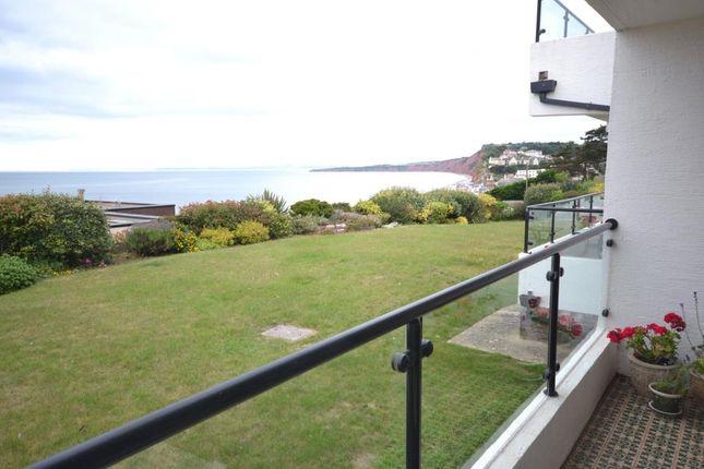 Balcony of White Lodge, 10 Coastguard Road, Budleigh Salterton, Devon EX9