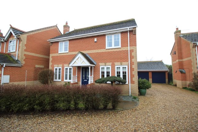 Thumbnail Detached house for sale in Howard Close, Terrington St. Clement, King's Lynn