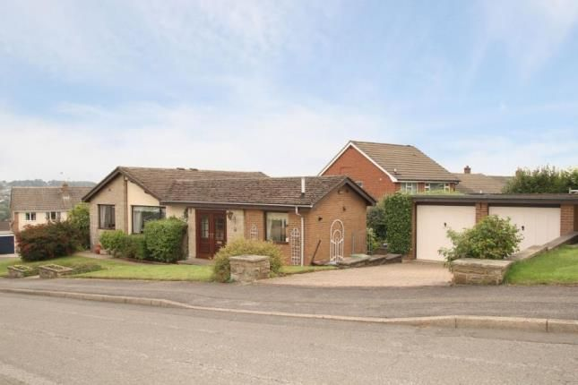 Thumbnail Bungalow for sale in Hollins Spring Avenue, Dronfield, Derbyshire