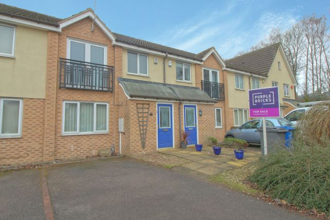 Thumbnail Town house for sale in Wharton Drive, Chesterfield