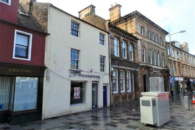 Retail premises for sale in High Street, Irvine