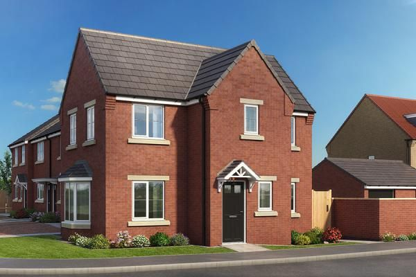 "Thumbnail Property for sale in ""The Mulberry At High Farm"" at Off Trunk Road, Normanby, Middlesbrough"