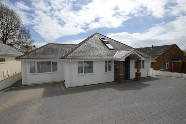 Thumbnail Detached bungalow for sale in Rocky Park Road, Plymouth, Devon