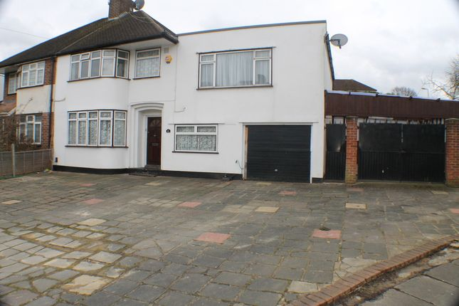 Thumbnail Semi-detached house to rent in Brownspring Drive, London