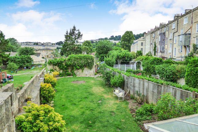 Rear Garden of Daniel Street, Bathwick, Bath BA2