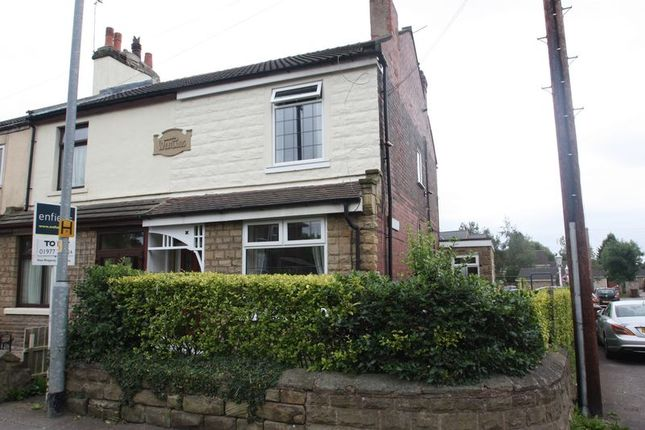 Thumbnail End terrace house to rent in Station Road, Ackworth, Pontefract