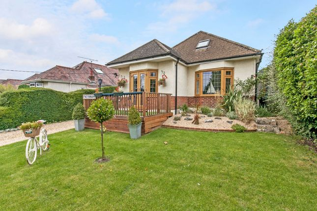 Thumbnail Detached bungalow for sale in Uplands Road, Bereweeke, Winchester