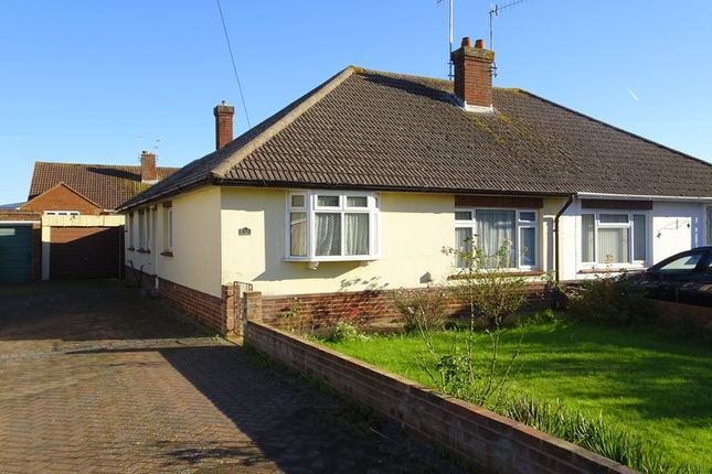 Thumbnail Semi-detached bungalow for sale in Heathfield Close, Worthing