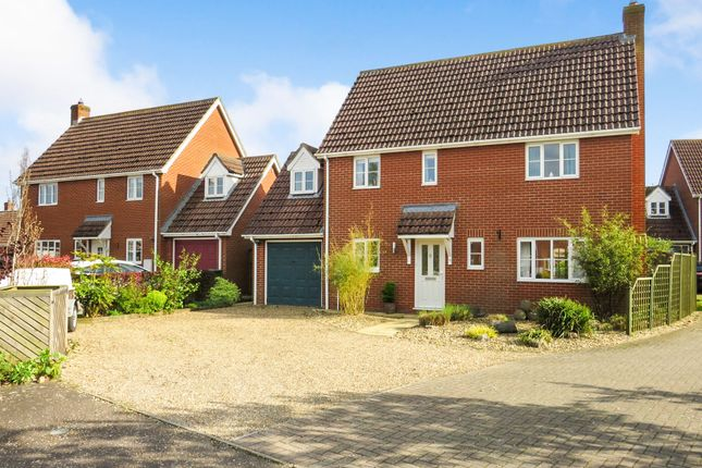 Thumbnail Detached house for sale in Pound Close, Banham, Norwich