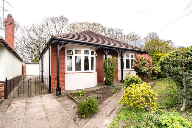 Thumbnail Detached bungalow for sale in Dalewood Avenue, Sheffield, South Yorkshire