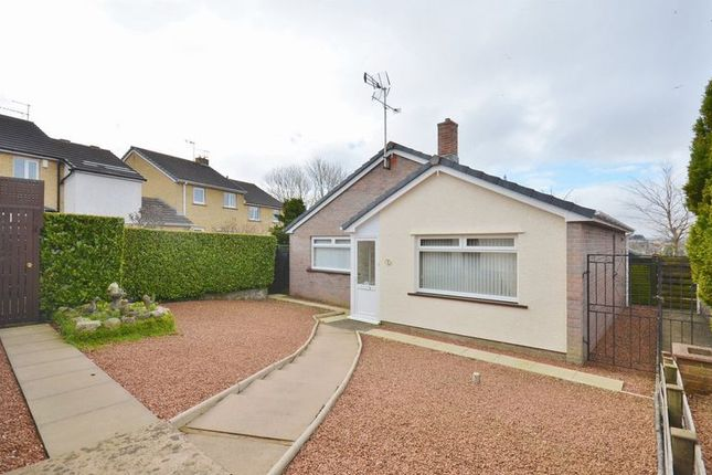 Thumbnail Detached bungalow for sale in Scafell Close, Cockermouth