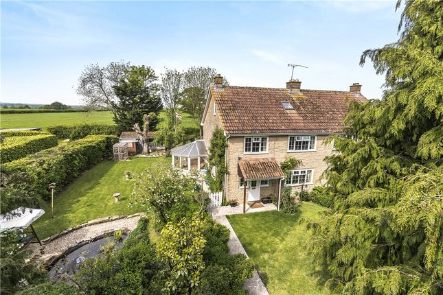 Thumbnail Semi-detached house for sale in Sandhills Cottages, Holwell, Sherborne