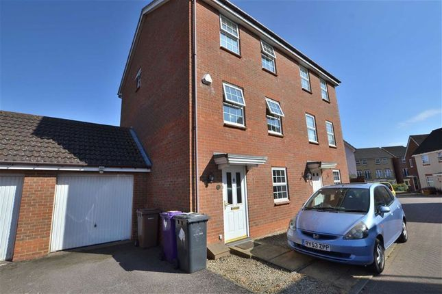 Thumbnail Semi-detached house to rent in Cleveland Way, Great Ashby, Stevenage, Herts