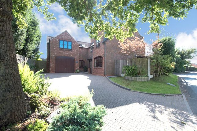 Thumbnail Detached house for sale in School Lane, Lea Marston, Sutton Coldfield