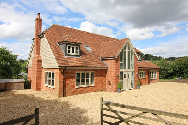 Thumbnail Detached house for sale in Petersfield Road, Ropley, Alresford