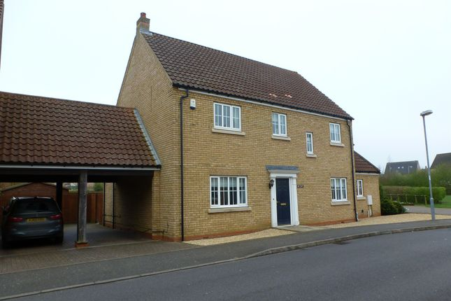 Thumbnail Link-detached house for sale in Alexander Chase, Ely